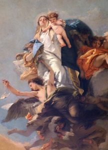 Tiepolo's Madonna from Venice.